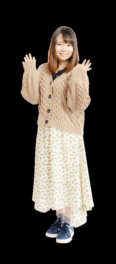 西川 一香先生の私服
