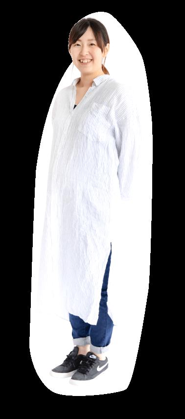 髙松 麻愛先生の私服